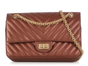 Chanel Ch.q0909.02 Bronze Hardware Ghw Reduced Price Cross Body Bag