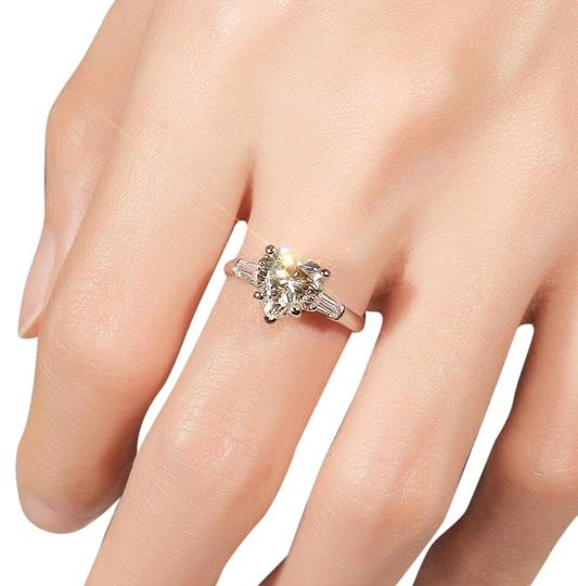 Preload https://img-static.tradesy.com/item/26194300/silver-real-925-sterling-heart-shape-5a-zircon-cz-stone-engagement-wedding-band-for-women-ring-0-3-540-540.jpg