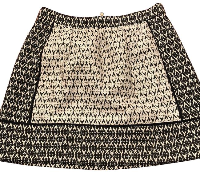 J.Crew Black and White Perfect Fall Skirt Size 4 (S, 27) J.Crew Black and White Perfect Fall Skirt Size 4 (S, 27) Image 1