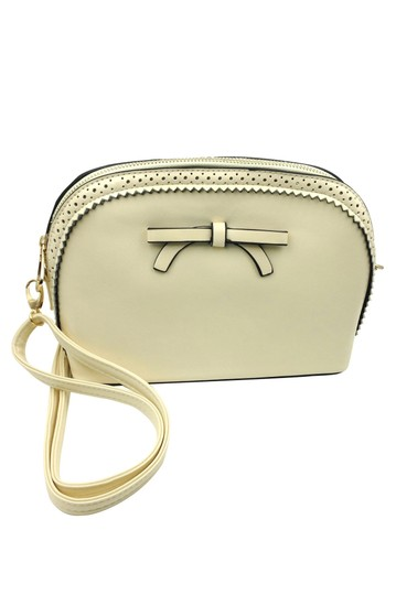 Preload https://img-static.tradesy.com/item/26194837/ancient-bow-small-purse-beige-faux-leather-shoulder-bag-0-0-540-540.jpg