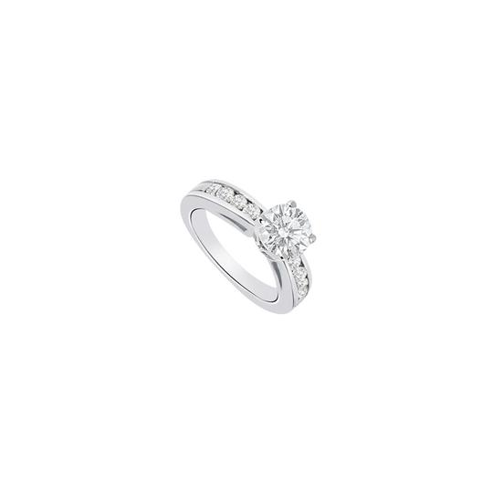 Preload https://img-static.tradesy.com/item/26194882/white-14k-gold-1-carat-engagement-with-triple-aaa-quality-cz-ring-0-0-540-540.jpg