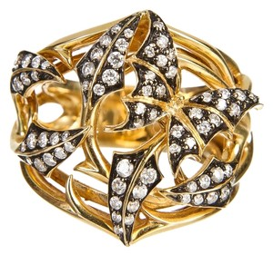 Stephen Webster Stephen Webster 18k Yellow Gold and Diamond Fly by Night Ring