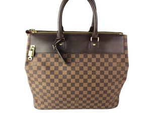 Louis Vuitton Lv Damier Greenwich Tote in Brown