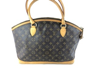 Louis Vuitton Lockit Speedy Neverfull Tote in Brown
