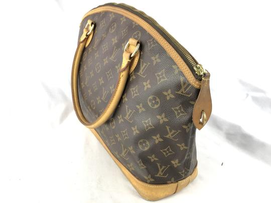 Louis Vuitton Lockit Speedy Neverfull Tote in Brown Image 6
