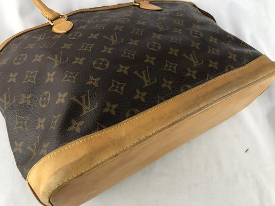 Louis Vuitton Lockit Speedy Neverfull Tote in Brown Image 8