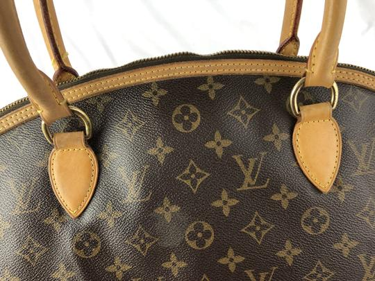 Louis Vuitton Lockit Speedy Neverfull Tote in Brown Image 9