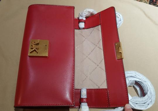 Michael Kors Shoulder Mott Clutch Wallet Cross Body Bag Image 7