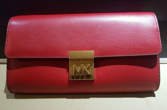 Michael Kors Shoulder Mott Clutch Wallet Cross Body Bag Image 9