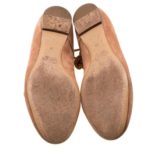 Chloé Suede Ballet Leather Brown Flats Image 5