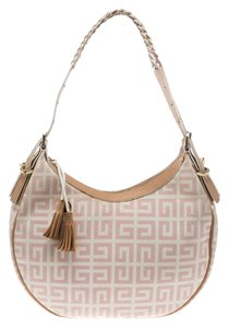 Givenchy Canvas Leather Hobo Bag