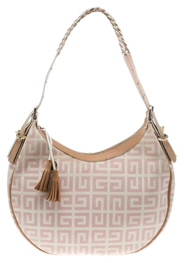 Preload https://img-static.tradesy.com/item/26196940/givenchy-pinkbeige-signature-pink-canvas-and-leather-hobo-bag-0-1-540-540.jpg