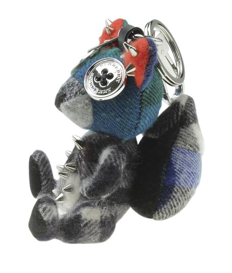 Burberry Burberry Check Squirrel Multi-Color Key Ring (178217) Image 2