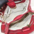 Gucci Bamboo Shopper Calfskin Small Satchel in Red Image 8