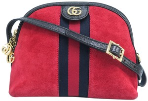 Gucci Ophidia Small Suede Cross Body Bag