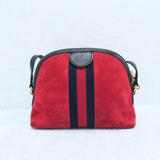 Gucci Ophidia Small Suede Cross Body Bag Image 2