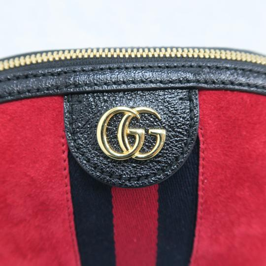 Gucci Ophidia Small Suede Cross Body Bag Image 8