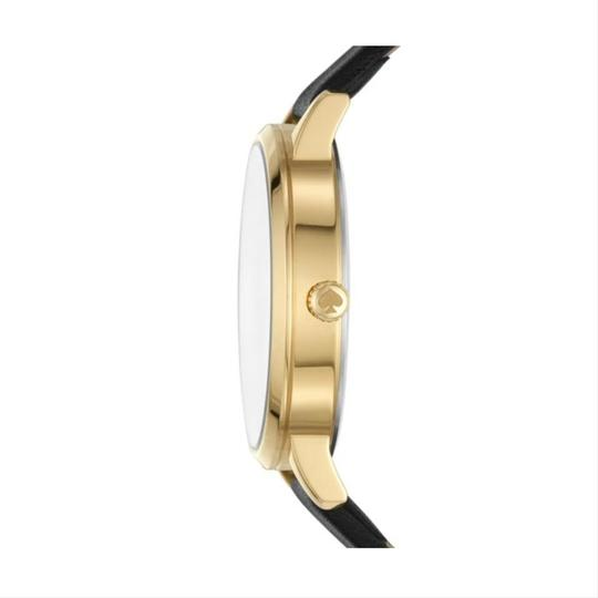 Kate Spade New York Kate Spade New York Women's metro floral black leather watch KSW1459 Image 1