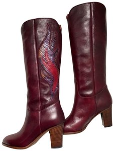 Frye Deep Brownish Wine Boots