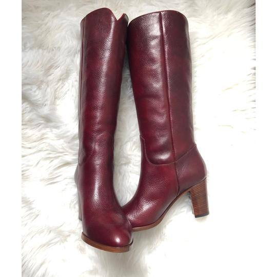 Frye Deep Brownish Wine Boots Image 1