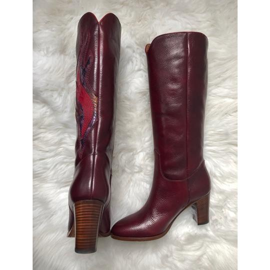 Frye Deep Brownish Wine Boots Image 2