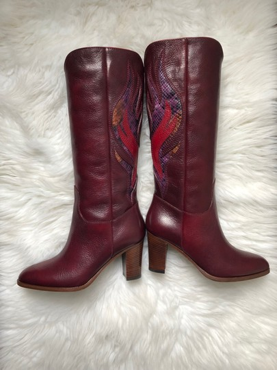 Frye Deep Brownish Wine Boots Image 4