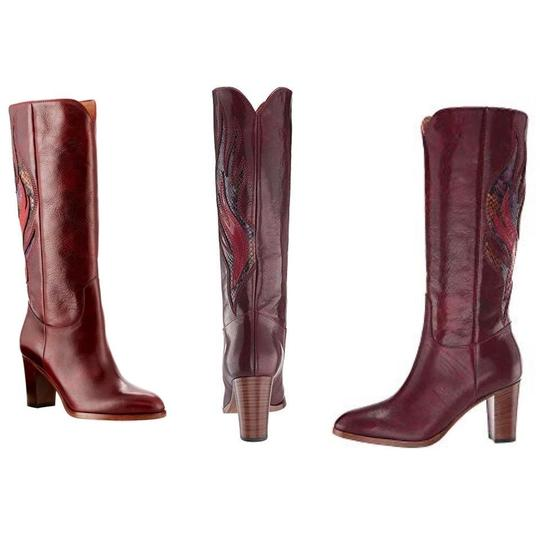 Frye Deep Brownish Wine Boots Image 5