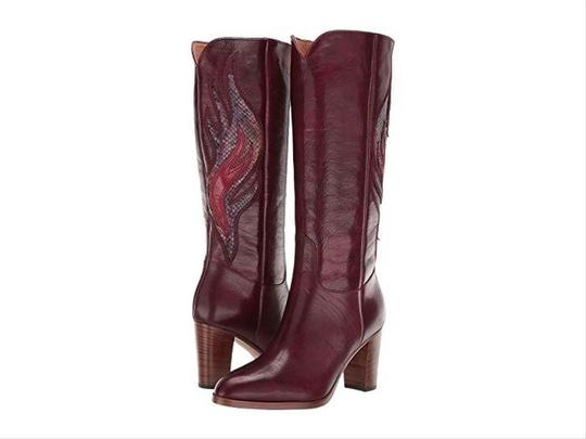 Frye Deep Brownish Wine Boots Image 7