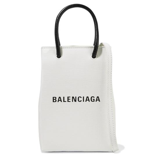 Preload https://img-static.tradesy.com/item/26197379/balenciaga-tote-logo-printed-mini-leather-cross-body-bag-0-0-540-540.jpg