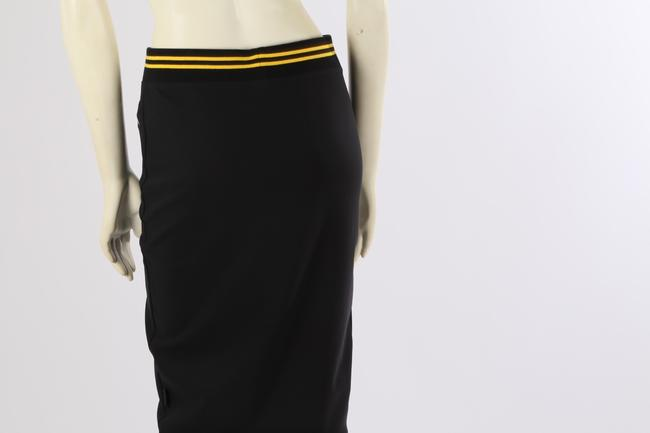 PUMA by Rihanna Casual Knee Lenght Pencil Skirt Black Image 7