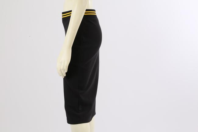 PUMA by Rihanna Casual Knee Lenght Pencil Skirt Black Image 8