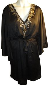 White House | Black Market Bat Sleeve Beaded Embroidered Night Out Onm001 Dress