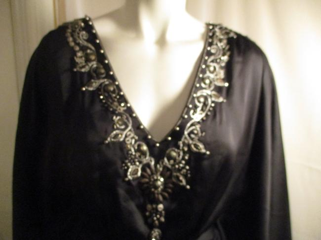 White House | Black Market Bat Sleeve Beaded Embroidered Night Out Onm001 Dress Image 1