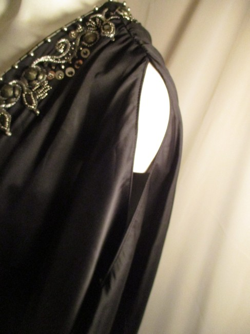 White House | Black Market Bat Sleeve Beaded Embroidered Night Out Onm001 Dress Image 8