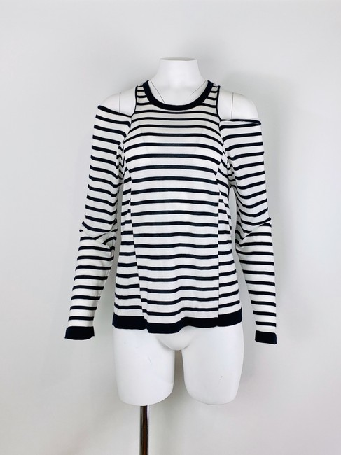 T by Alexander Wang T Shirt Navy/White Image 2
