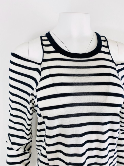T by Alexander Wang T Shirt Navy/White Image 5