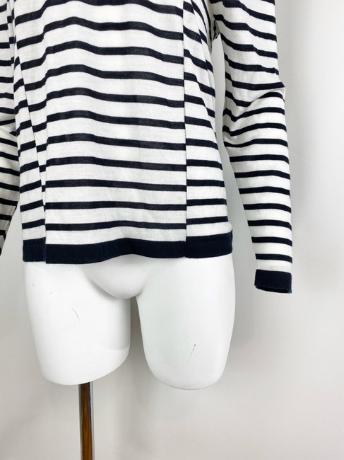 T by Alexander Wang T Shirt Navy/White Image 6