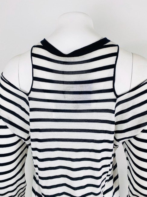T by Alexander Wang T Shirt Navy/White Image 8