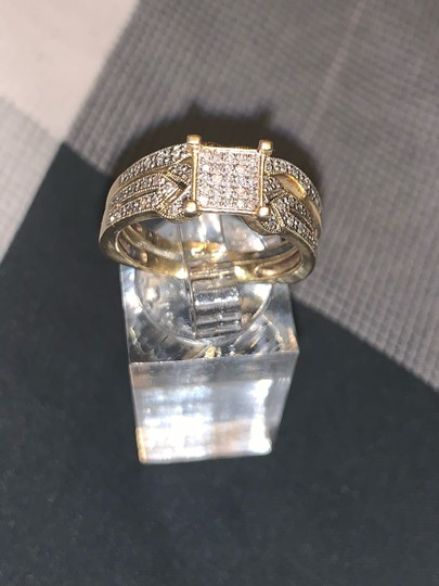 Zales 2pc 10k Gold Diamond Ring 0.30 Carats Image 7