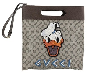 Gucci Donald Duck Soft Tote in brown