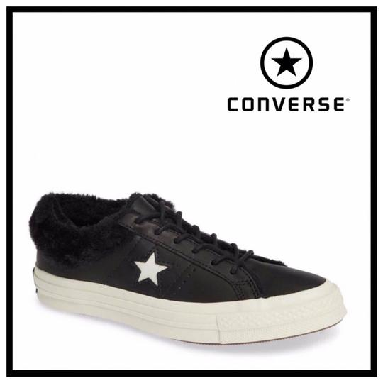 Preload https://img-static.tradesy.com/item/26197775/converse-black-white-lo-ox-faux-fur-lined-leather-low-tops-sneakers-size-us-7-regular-m-b-0-0-540-540.jpg
