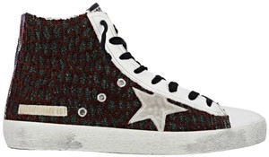 Golden Goose Deluxe Brand white, by bold cocco bordeaux Flats