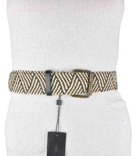 Preload https://img-static.tradesy.com/item/26197886/bcbgmaxazria-beige-and-black-bcbg-rafia-boho-style-one-size-waist-belt-0-1-540-540.jpg