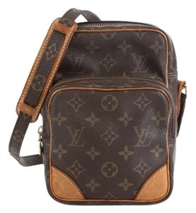 Louis Vuitton Amazone Monogram Canvas Brown Messenger Bag