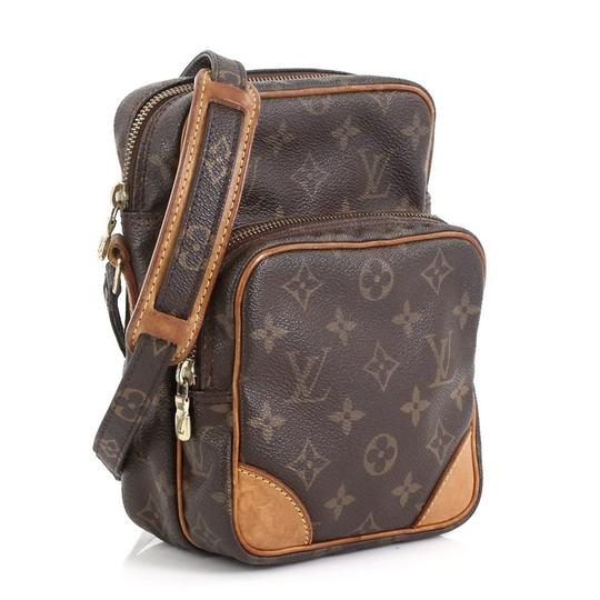 Louis Vuitton Amazone Monogram Canvas Brown Messenger Bag Image 1