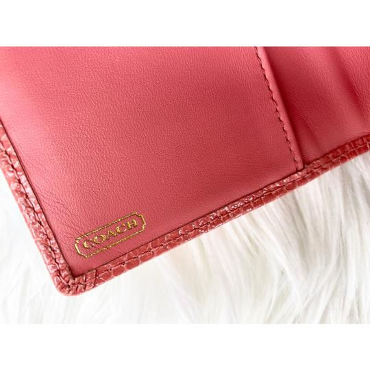 Coach Wristlet in Peach/Coral Image 3