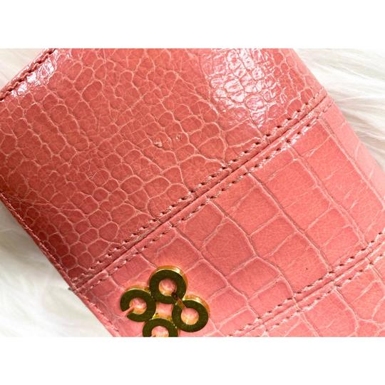 Coach Wristlet in Peach/Coral Image 4