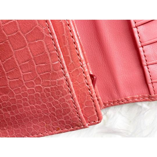 Coach Wristlet in Peach/Coral Image 5