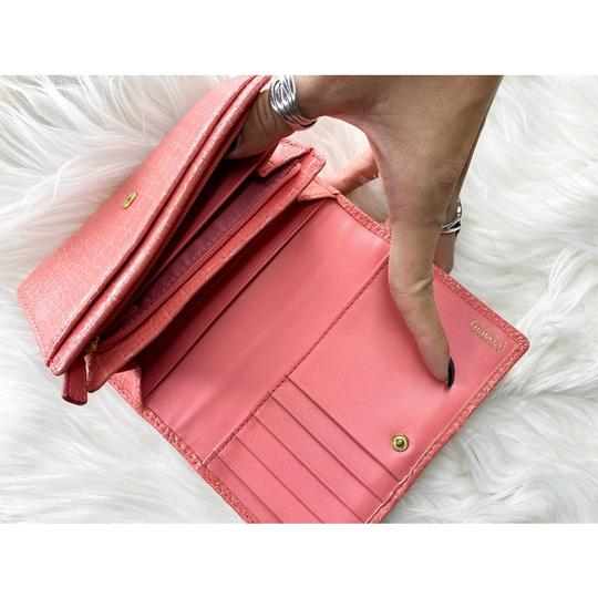 Coach Wristlet in Peach/Coral Image 6