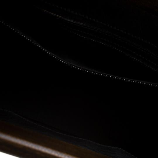 Gucci Leather Satchel in Black Image 5